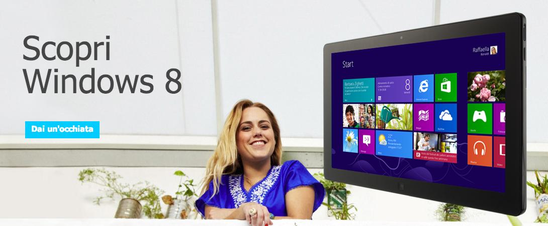 Scopri il tuo nuovo Windows. Perfetto per il lavoro e il divertimento