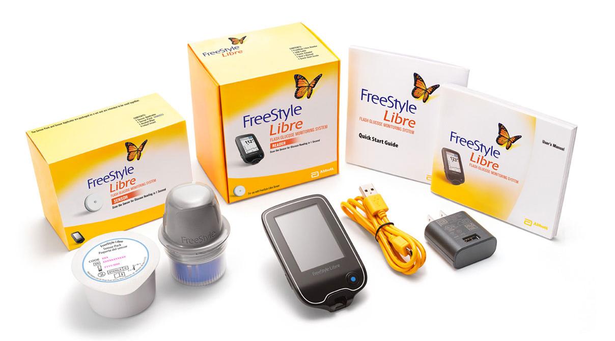 Abbott lancia FreeStyle® Libre, per monitorare in real time il livello di glucosio nel sangue