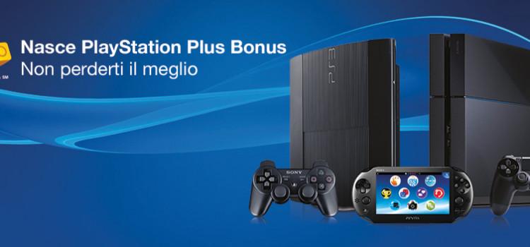 Sconti e Promozioni PlayStation: Arriva PlayStation Plus Bonus!